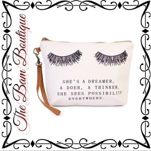 "Handbags - ""She""s A Dreamer"" - Wristlet/Makeup Bag"
